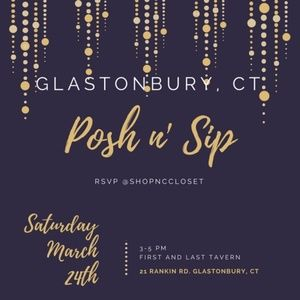 Attention Connecticut Poshers!!  Join us on 3/24!!